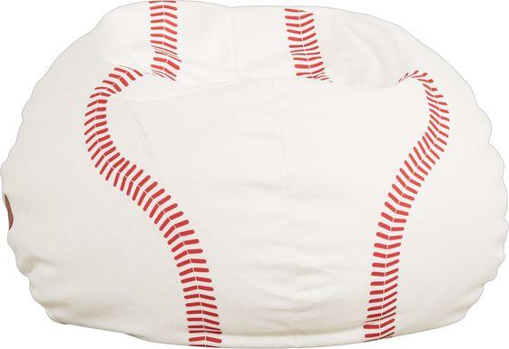 Kids Sports Zone Baseball Bean Bag Chair