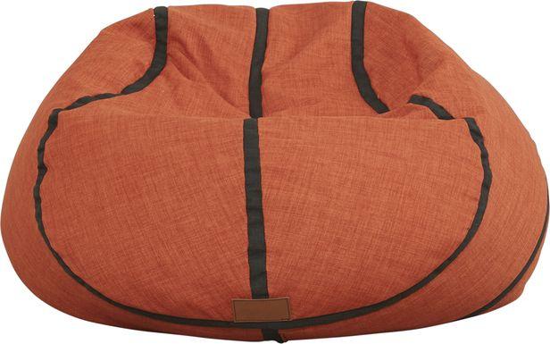 Kids Sports Zone Basketball Bean Bag Chair