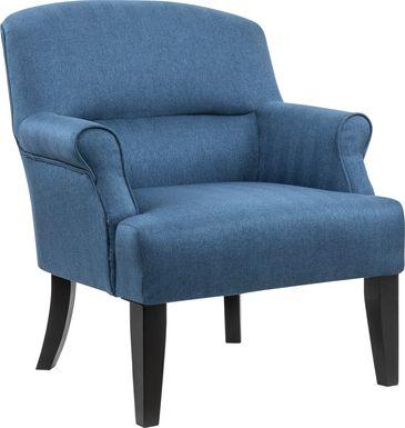 Stamnes Blue Accent Chair