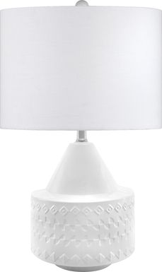 Stanida White Lamp
