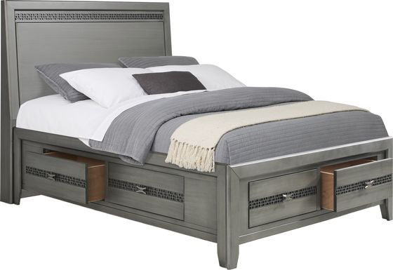 Star Wars Carbonite Gray 3 Pc Full Storage Bed
