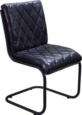 Starnes Black Side Chair (Set of 2)