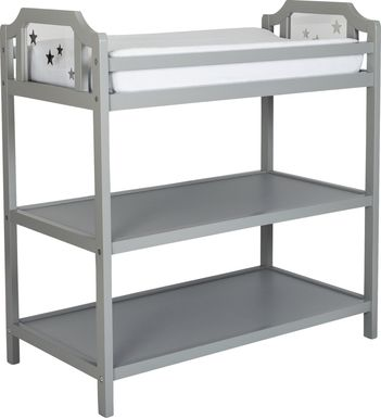 Starry Grove Light Gray Changing Table