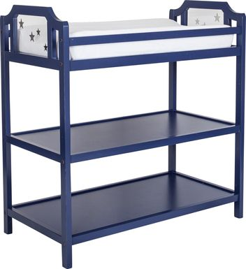 Starry Grove Navy Changing Table