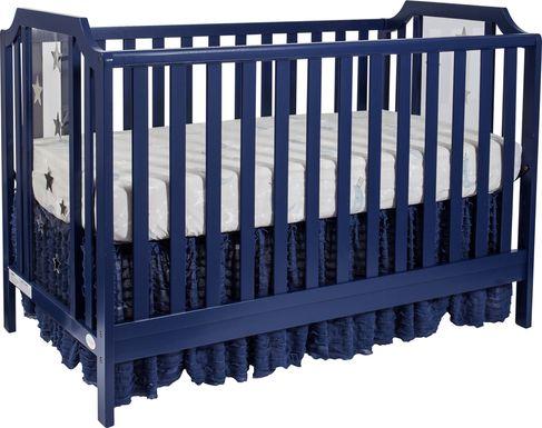 Starry Grove Navy Covertible Crib