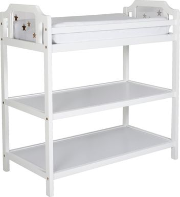 Starry Grove White Changing Table