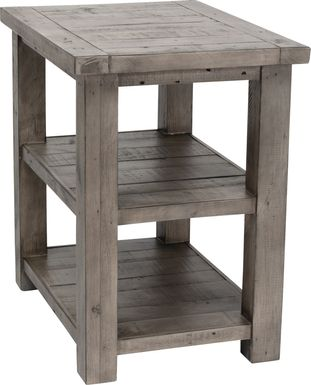 Staufen Gray End Table