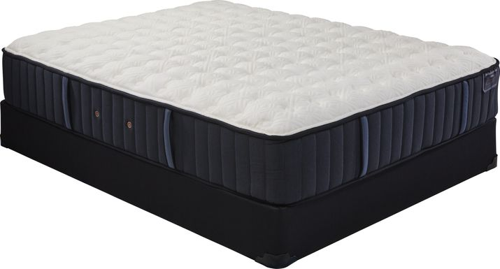 Stearns and Foster Rockwell Low Profile Queen Mattress Set
