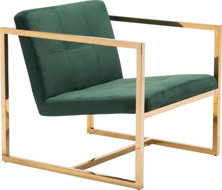 Stellary Green Accent Chair