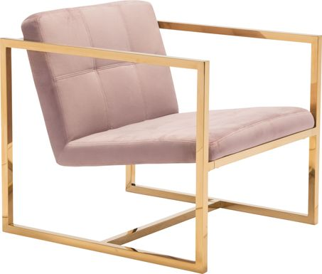 Stellary Pink Accent Chair