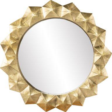 Stevendale Brass Mirror