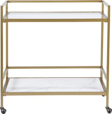 Stillings Gold Bar Cart