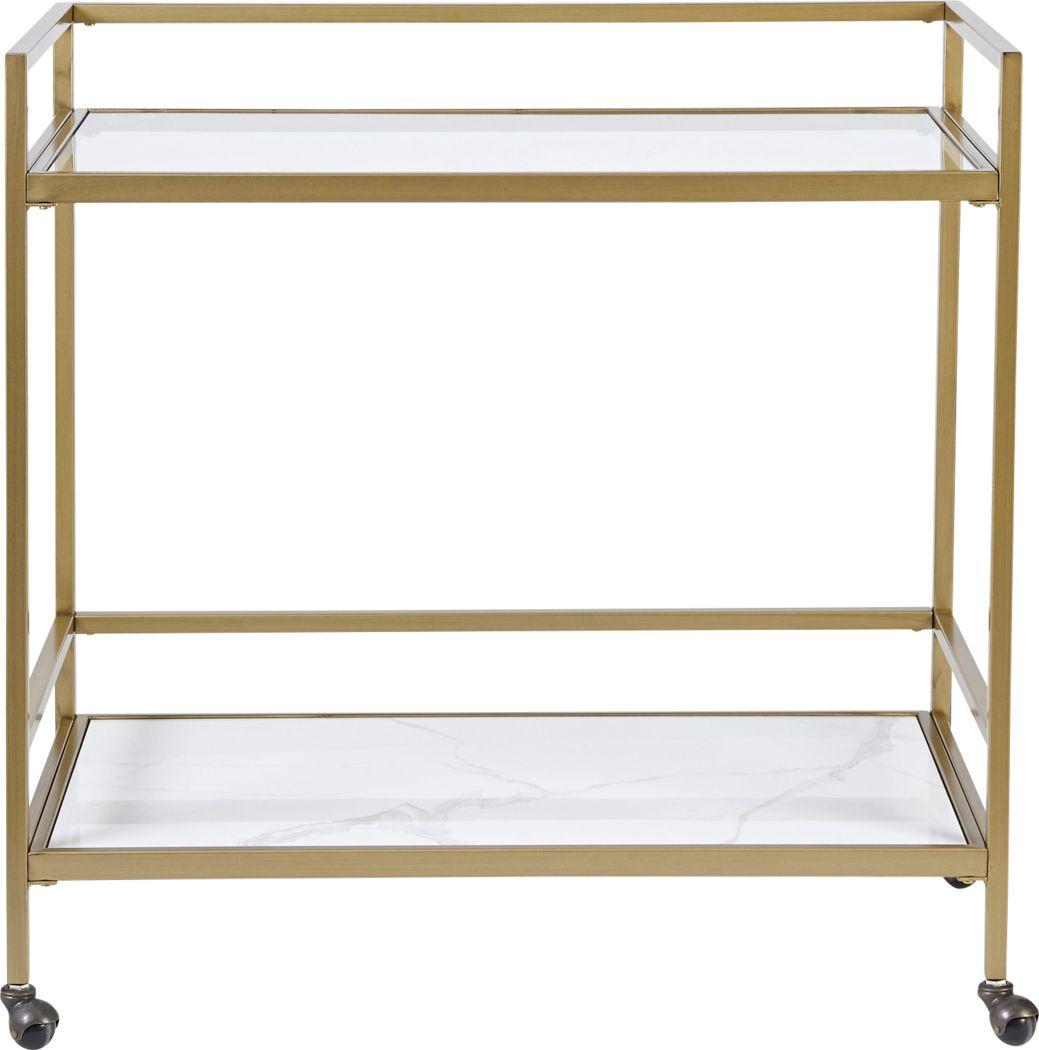 Stillings Gold Bar Cart
