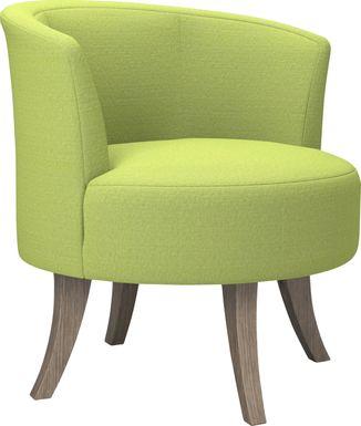 Stoneleigh Green Accent Swivel Chair