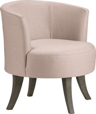 Stoneleigh Pink Accent Swivel Chair
