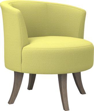 Stoneleigh Yellow Accent Swivel Chair