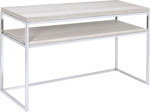 Stonington Chrome Sofa Table