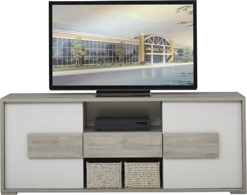 Studio Place Gray 74 in. Console
