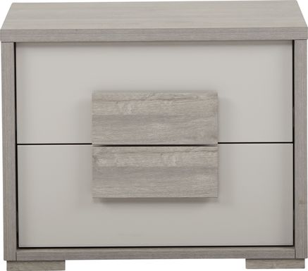 Studio Place Silver Nightstand
