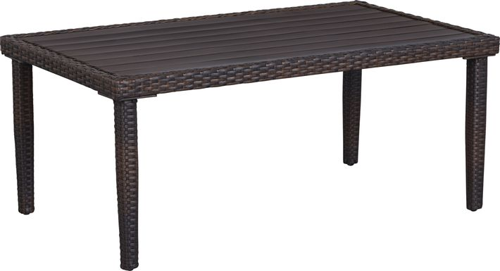 Summerset Way Brown Outdoor Cocktail Table