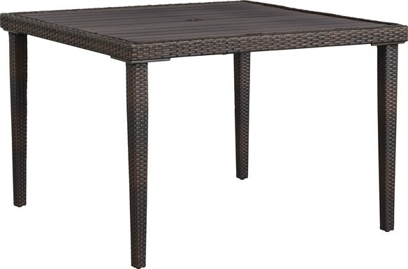 Summerset Way Brown Square Outdoor Dining Table