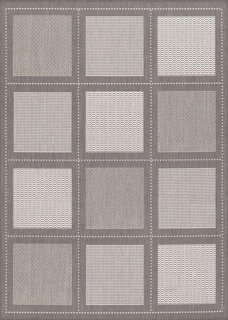 Summit Way Gray 5'10 x 9'2 Indoor/Outdoor Rug