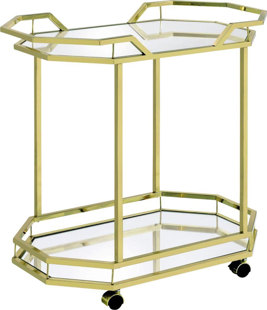 Sumrall Gold Bar Cart