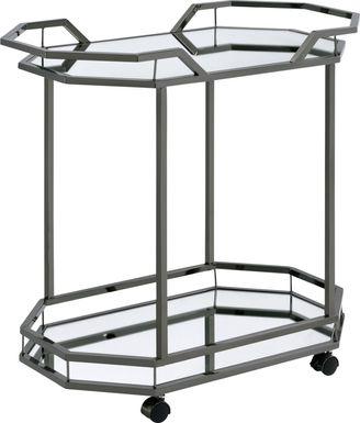 Sumrall Nickel Bar Cart