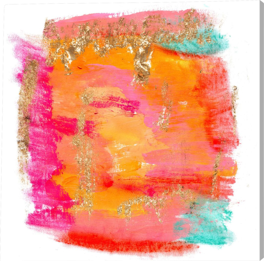 Sunny Mood Orange Artwork