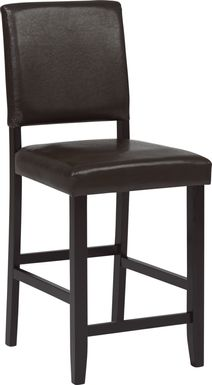 Sunset View Brown Counter Height Stool