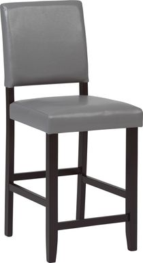 Sunset View Gray Counter Height Stool