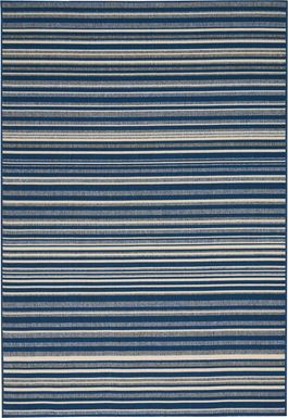 Surfcrest Blue 8' x 10' Indoor/Outdoor Rug