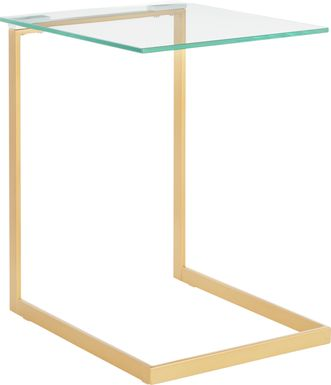 Susitina Gold Accent Table