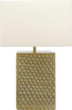 Swaner Gold Lamp