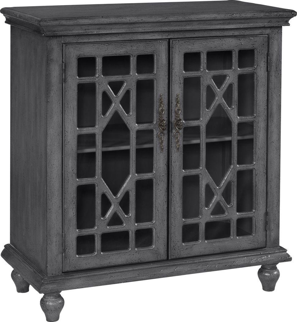 Swansboro II Gray Accent Cabinet