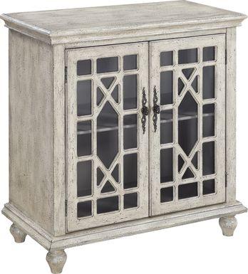 Swansboro II Ivory Accent Cabinet