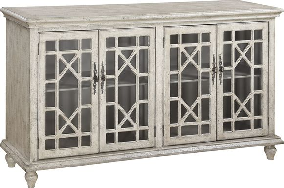 Swansboro II Ivory Accent Console