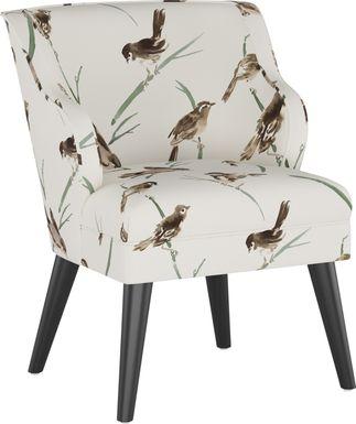 Sweet Comfort Cream Accent Chair