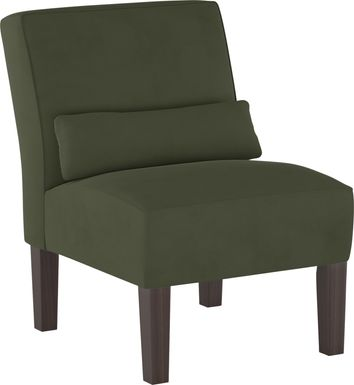 Sweet Plains Green Accent Chair