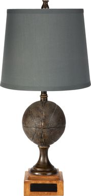 Kids Swish! Gray Lamp