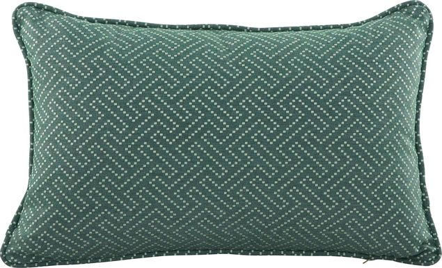 Syoto Teal Indoor/Outdoor Accent Pillow
