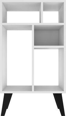 Tagus White Bookcase