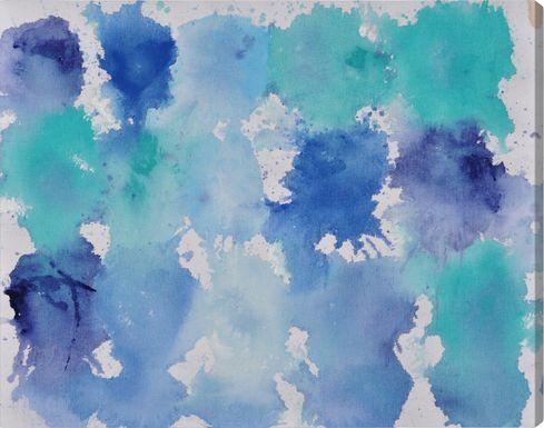 Tainted Winter Aqua Artwork
