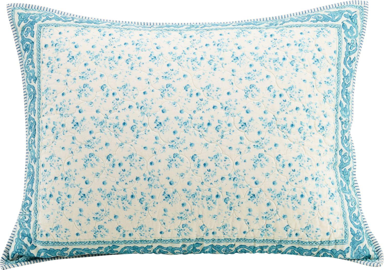 Takima Blue Decorative Pillow