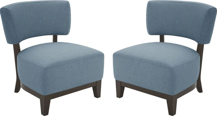 Tallmy Indigo Accent Chair, Set of 2