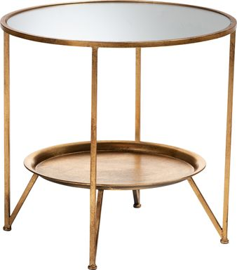 Talton Gold Accent Table