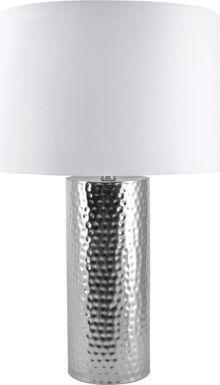 Talwyn Silver Lamp