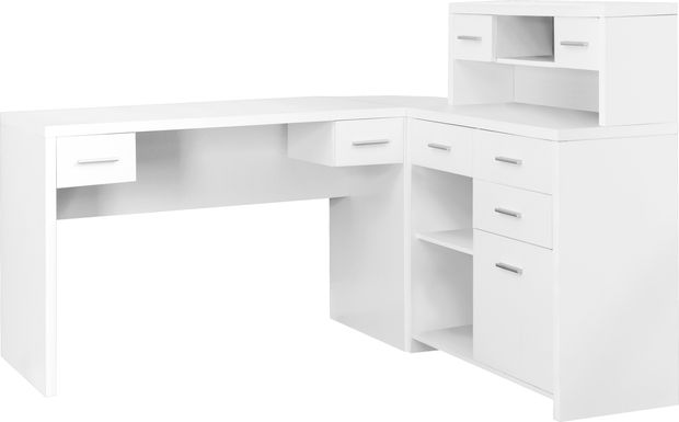 Tambec White Desk
