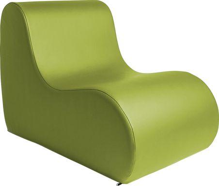 Kids Tamiko Green Large Chair