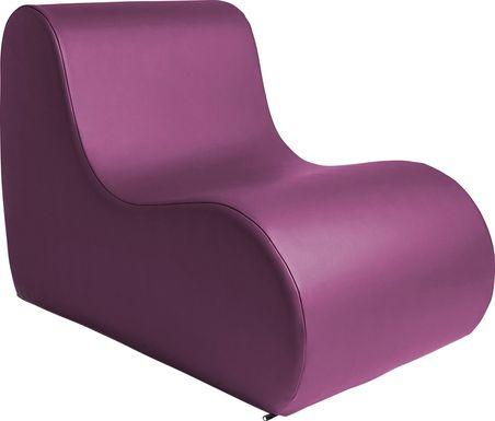 Kids Tamiko Purple Large Chair